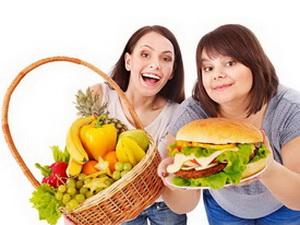 Вредная еда помогает выбирать полезную