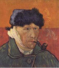 Рис. 1. Ван Гог. Автопортрет