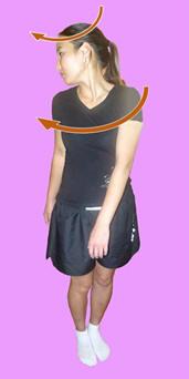 Рис. 13. Релаксация и стретчинг косых пучков квадратных мышц поясницы