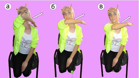 Рис. 1. Преимущественная релаксация верхней части трапециевидной мышцы, мышцы поднимающей лопатку, разгибателей шеи и головы