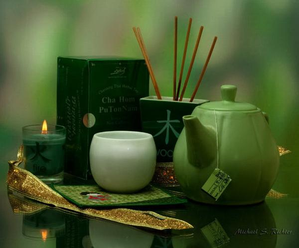 Пить зеленый чай нужно в определенное время